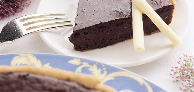 Warm Chocolate Tart
