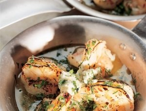 Shrimp with Garlic & Herb Butter