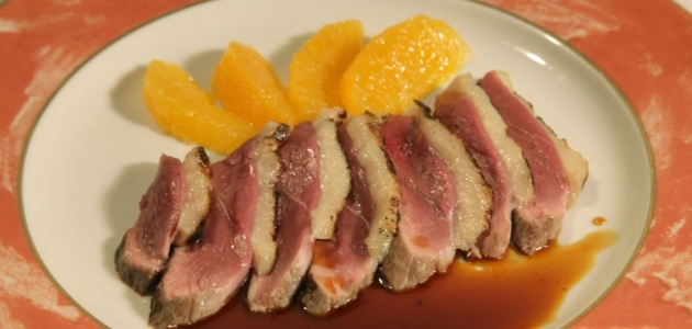 Duck Breasts with Orange Sauce