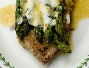Alsatian-Style Asparagus with Veal