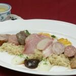 Alsatian-Style Sauerkraut with Sausage and Pork